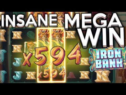 INSANE MEGA WIN Iron Bank over 7000x Relax Gaming Slot