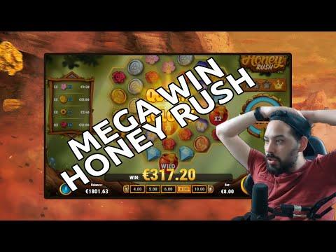 Honey Rush Mega Win – Finally the slot gods answered