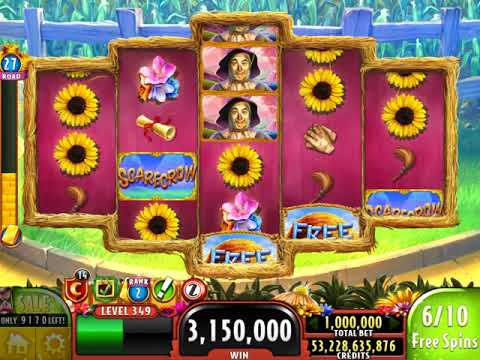 "WIZARD OF OZ: SCARECROW Video Slot Casino Game with a ""MEGA WIN"" FREE SPIN BONUS"