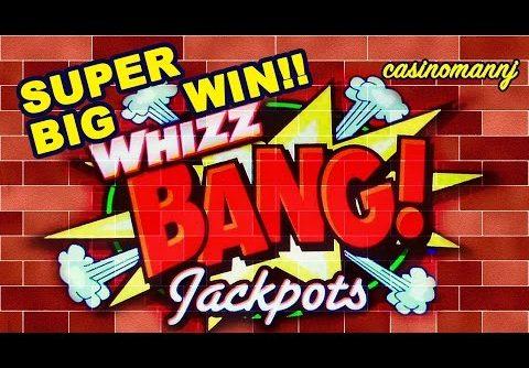 WHIZZ BANG JACKPOTS SLOT – Super BIG WIN!! – MAX BET!!! – Slot Machine Bonus