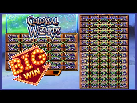 Colossal Wizards Slot PERFECT WIN
