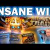 INSANE MEGA WIN ON THE NEW MONEY TRAIN 2 SLOT BY RELAX GAMING