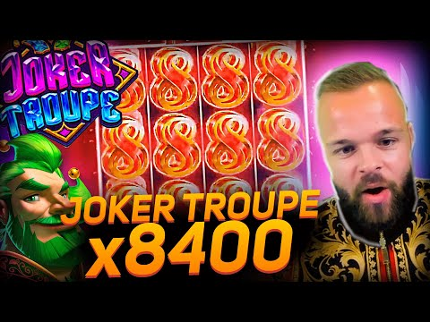 ClassyBeef New Record Win 70.000€ on Joker Troupe slot – TOP 5 Biggest wins of the week