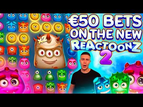 HUGE 13000€ WIN ON REATOONZ 2 🎰 BIG WIN ON PLAY N GO ONLINE SLOT MACHINE