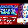 Celestial Temple Slot – 500+ Free Games, 9 Re-Triggers, Mega Big Win!!!