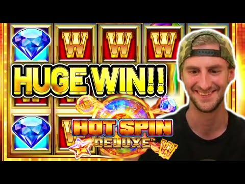 HUGE WIN!! HOT SPIN DELUXE BIG WIN – Casino Slot from CasinoDaddys stream