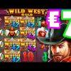 Wild West Gold 🤠 Slot Bonus Buys payed me a Big Win + Lucky Free Bonus €7 Bet Let's Do This‼️