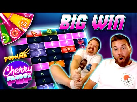 Mega Big Win in Cherry Pop