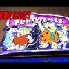 NEW SLOT – Flintstones Welcome to Bedrock.  Live Play + Lots of Big Wins!