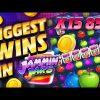 TOP 5 Biggest Wins in Jammin Jars slot