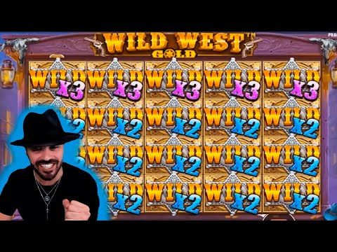 Streamer Crazy Big Win on Wild West Gold Slot – Top 5 Big wins in casino slot