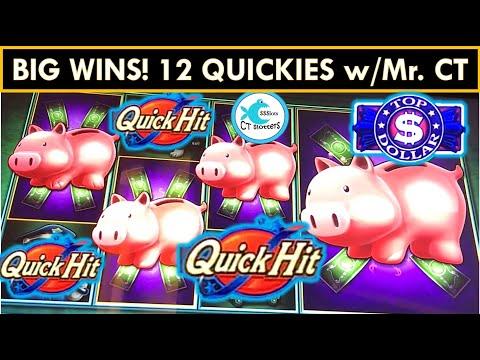 A DOZEN WINNING QUICKIES w/ Mr. CT! WAGER SAVER WIN! SLOT MACHINE BIG WINS!