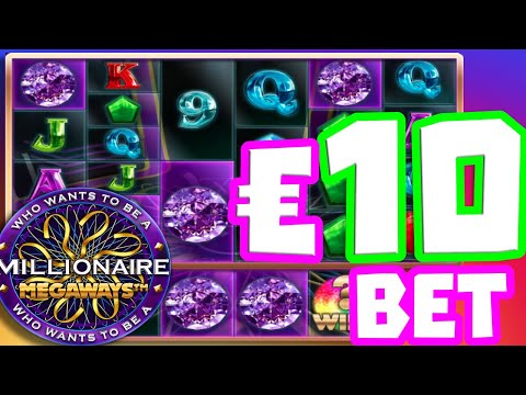 WHO WANTS TO BE A MILLIONAIRE 💰🔥SLOT MEGA BIG WIN THIS SLOT FINALLY PAYS MY BIGGEST WIN 🏆EVER‼️😱