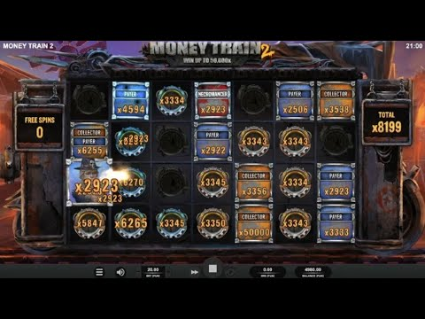 Money Train 2 Big Win – Slot by Relax Gaming (Top 5 Major Wins in Casino Slots)