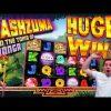 HUGE WINS on Cashzuma Slot – £2 Bet