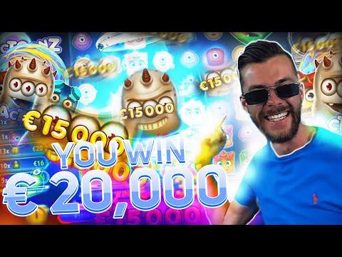 Streamer Big win 20.000€ on Reactoonz Slot – Top 5 Biggest Wins of week