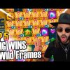 Huge wins  in new slot Wild Frames – Top 5 Big wins in casino slot