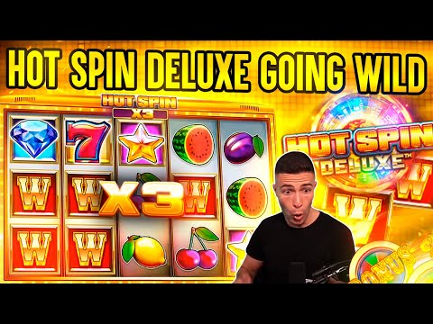 5 SPINS – 5 WILDS ON HOT SPIN DELUXE 🎰 BIG WIN ON ISOFTBET ONLINE SLOT MACHINE