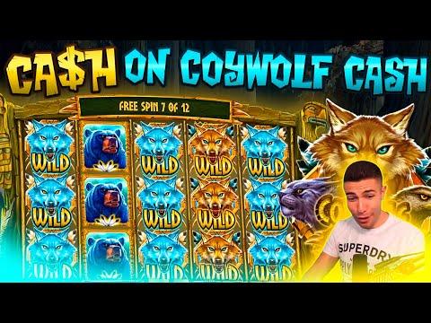 CRAZY CASH ON COYWOLF CASH BONUS | BIG WIN ON PLAY N GO ONLINE SLOT MACHINE