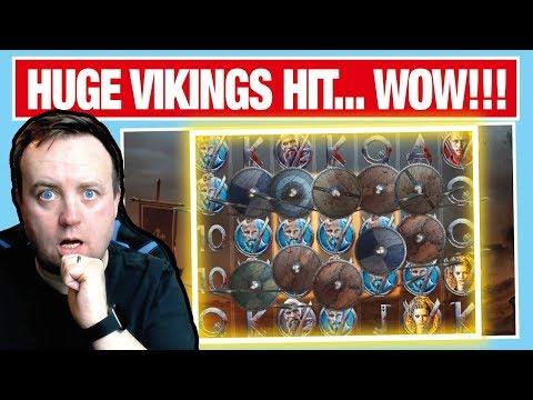 HUGE WIN on VIKINGS SLOT !!!