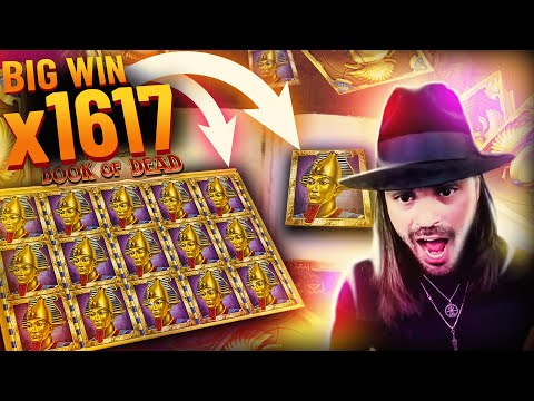 ROSHTEIN New Big Win 23.000€ on Book of Dead slot – TOP 5 Mega wins of the week
