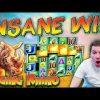 INSANE WIN on Raging Rhino Megaways Slot – 60p Bet
