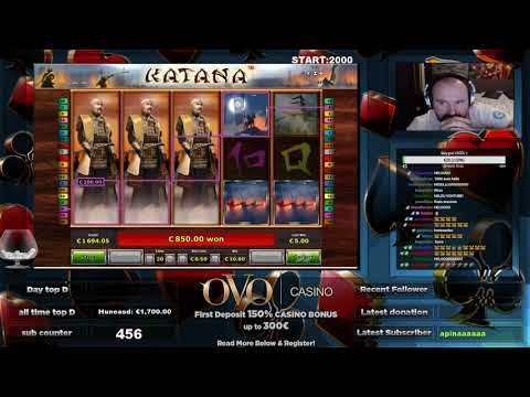 Katana Slot Gives Super Big Win!!