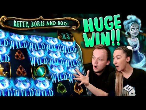 SUPER BIG WIN on Betty, Boris and Boo Slot!