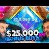 $25,000 GEMS BONANZA BONUS BUYS | $100,000+ BIG WIN!  | Online Slots
