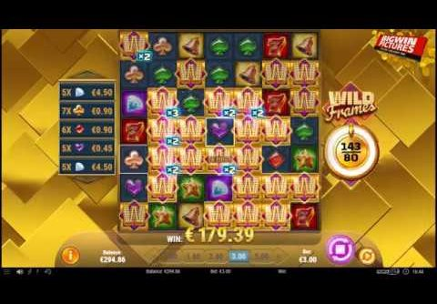 Wild Frames Slot – A Record Amount Of Wilds?