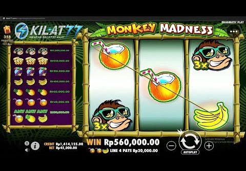 MEGA WIN, BALIK MODAL DAN LEBIH!!! – MONKEY'S MADNESS PRAGMATIC PLAY