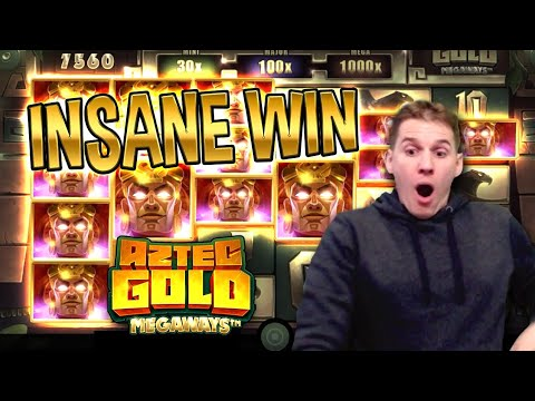 INSANE WIN on Aztec Gold Megaways Slot – £6 Bet