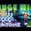 BIG WIN on Reactoonz Slot – £20 Bet!