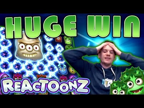BIG WIN on Reactoonz Slot – £20 Bet!