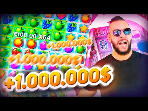 Streamer RECORD win on Fruit Party – Top 5 Big wins in casino slot