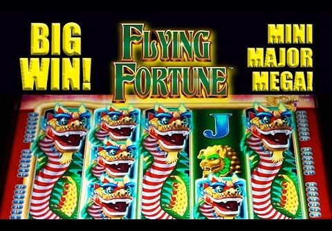 Flying Fortune Slot – **BIG WIN** – MINI-MAJOR-MEGA! – Slot Machine Bonus