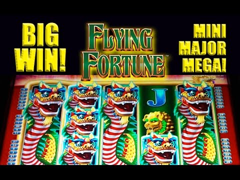 Flying Fortune Slot – **BIG WIN** – MINI-MAJOR-MEGA! – Slot Machine Bonus