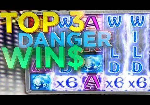 Biggest Wins Danger High Voltage Big Time Gaming BTG Slot