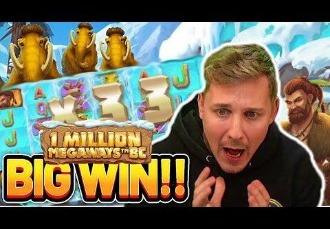 BIG WIN!! 1 MILLION MEGAWAYS BC BIG WIN – Casino slot win from Casinodaddy