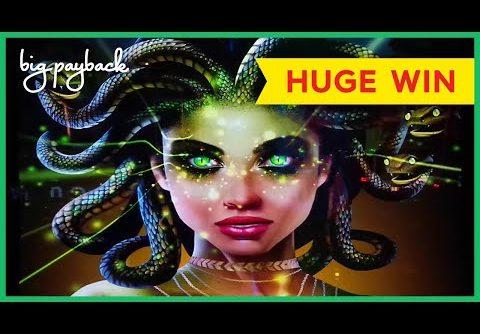 HUGE WIN! Medusa Unleashed Slot – I CRUSHED IT!!
