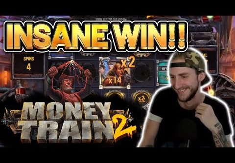 INSANE WIN! MONEY TRAIN 2 BIG WIN –  Online Slots from Casinodaddy LIVE STREAM