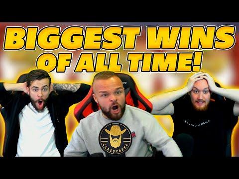 BIGGEST WINS OF ALL TIME! BIG ONLINE SLOT WIN COMPILATION!
