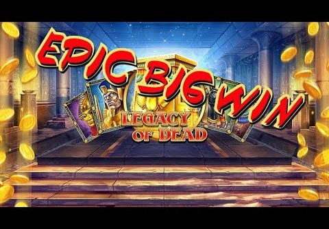 LEGACY OF DEAD. EPIC BIG WIN!!! My biggest win at this slot -Play'nGo-