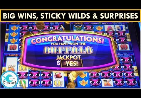 *BIG WINS* Wonder 4 Jackpots Slot Machine – HOT MACHINE!