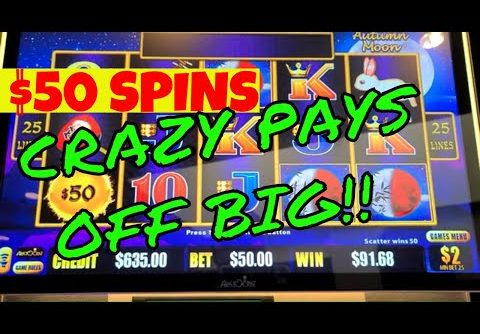 $ Big Win/Jackpot Hanpay $  Dragon Link Autumn Moon Slot Machine