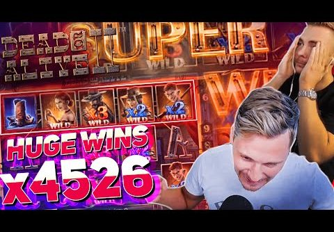 Streamer RECORD Win x4600 on Dead or Alive 2 Slot – TOP 10 BEST WINS OF THE WEEK !