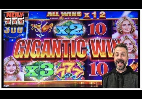 GIGANTIC WIN ON VEGAS RICHES!!! LOT'S OF SLOT BONUSES AND BIG WINS!