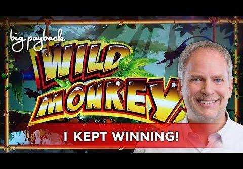 Wild Monkeys Slot – BIG WIN SESSION, LOVED IT!