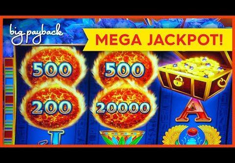 MEGA JACKPOT HANDPAY! Ultra Hot Mega Link Egypt Slot – ALL THE WAY TO THE TOP!