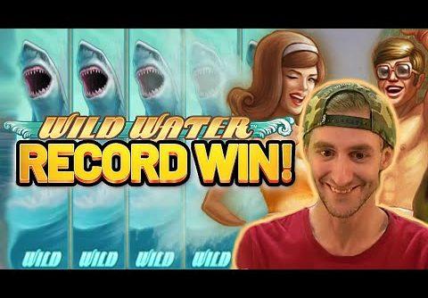 RECORD WIN!!! WILD WATER BIG WIN – €5 BONUS ON CASINO SLOT FROM NETENT